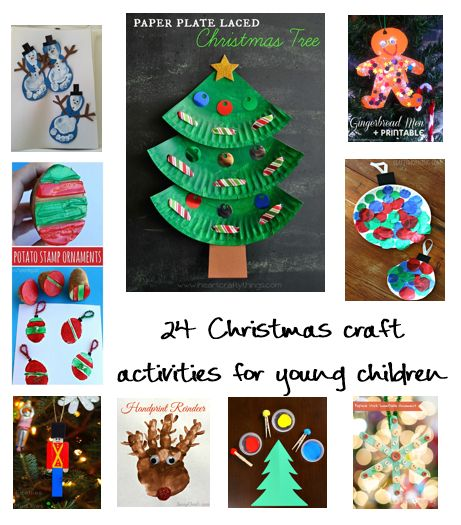 24 Christmas craft activities for young children
