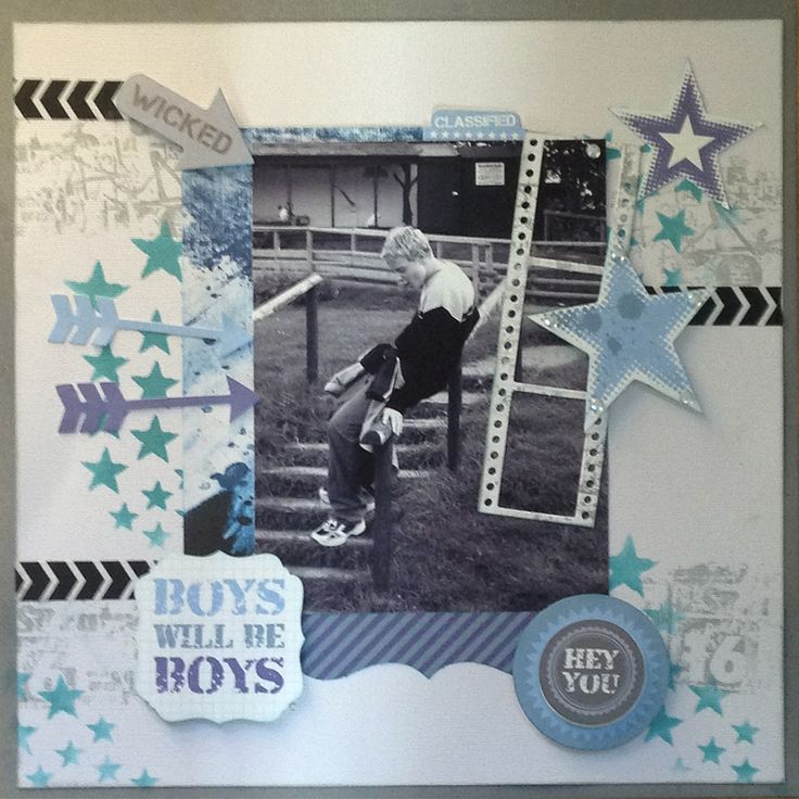 """<p>Hi there! This month I'm using the collection called Off the wall. For the background I used Kaisercard in Elephant Ears and Coconut, and a sheet of patterned paper in Rad. I inked the edges of the card and paper using Tim Holtz Distress ink in Peacock Feathers. I also used this <a href="""" http://www.merlyimpressions.co.uk/blog/project-portfolio/scrapbooking/wicked-using-off-the-wall/ """"> …click to read more</a></p>"""