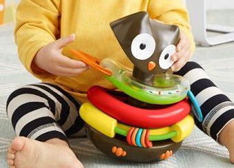 activiteiten uil 'rocking owl stacker'