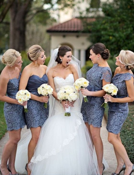 Short Bridesmaid Dresses,Short Bridesmaid Dresses,Lace Bridesmaid Dress,Sweetheart Bridesmaid Dress,Knee Length Bridesmaid Gowns, Simple Bridesmaid Dresses,Cheap Bridesmaid Dresses