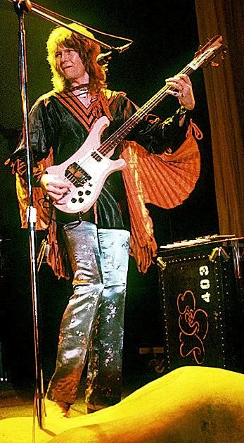 Chris Squire - Yes. My brother's favorite musician!; he died only about a week after Chris Squire did. July, 2015-RIP to both.