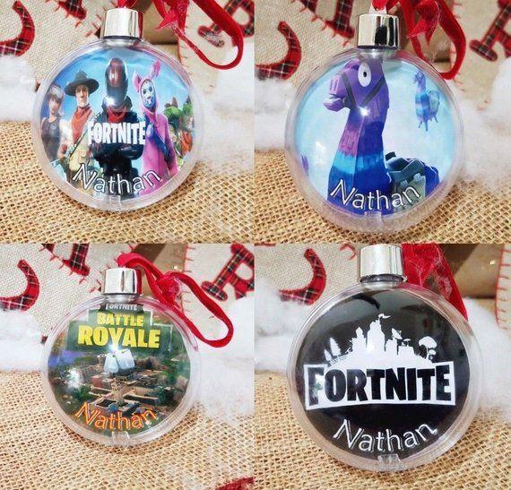 Fortnite Christmas Tree.X4 Fortnite Christmas Baubles Xmas Tree Ornament