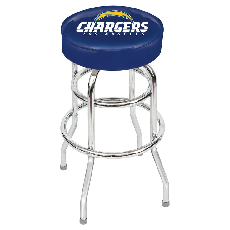 Los Angeles Chargers Game Room Stool