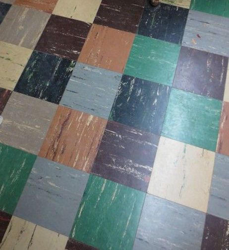 Vintage linoleum urban patterns pinterest vintage for Modern linoleum flooring