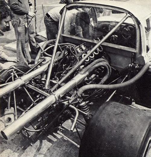 V8 Engine Good Or Bad: 1976 VW Beetle Super Saloon Mid Engine V8 Chevy 5000cc