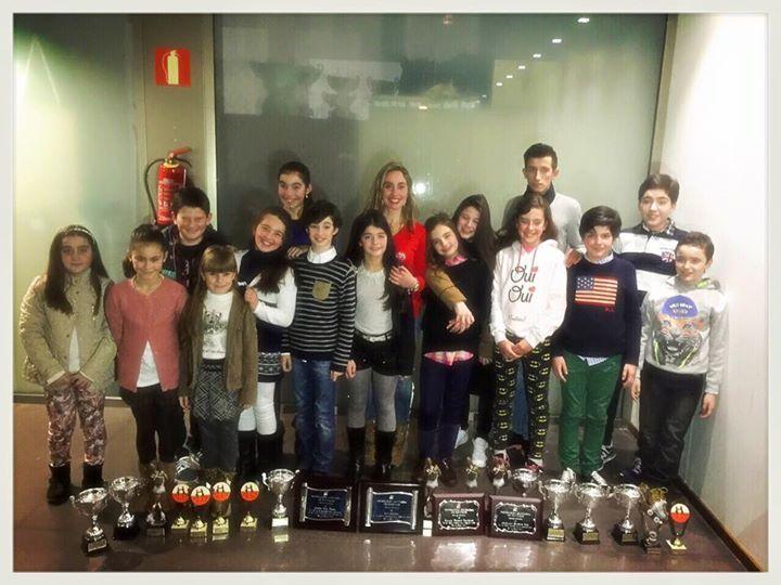 mundopatin: El Club Alexmar arrasa en la gala de la Federación...
