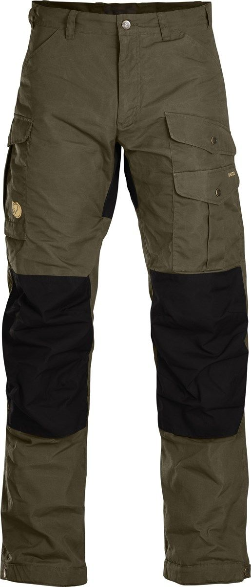 Fjallraven Mens Vidda Pro Hydratic Trouser Dark Olive/Black