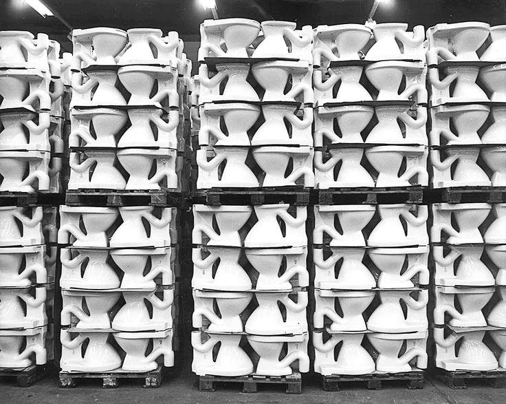 Valmiita wc-istuimia pinossa tehtaalla. http://www.ido.fi #bathroom #bathroomdesign #interiordesign #homespa #scandinaviandesign #bathroomideas #bathroomsink #interiordecoration #toilet #factory #sink #finnishdesign #bathroominspiration #ceramics #ceramicsoven #bathroomidea #tap #washbasin #fauset #behindthescenes #sanitary #porcelain #interiorideas #advertisement #history #toiletseat #shipment