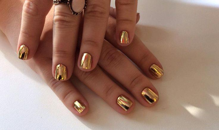 Minx. #beautydistrctsalon #beautydistrict #elleawards #nailsart #naildesign #minxmanicure