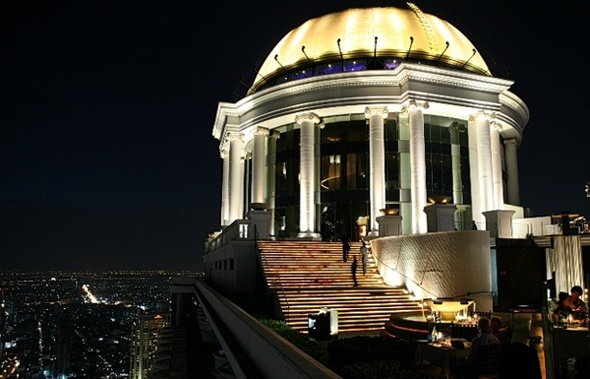 sky bar in bangkok, just amazing!