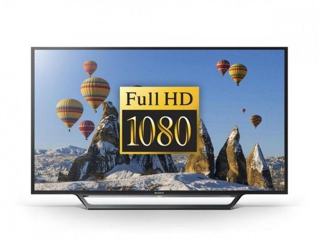 """Sony 40"""" LED Smart TV KDL40WD653   Satelittservice tilbyr bla. HDTV, DVD, hjemmekino, parabol, data, satelittutstyr"""