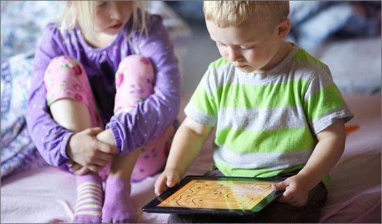 Should my kindergartner have an iPad?