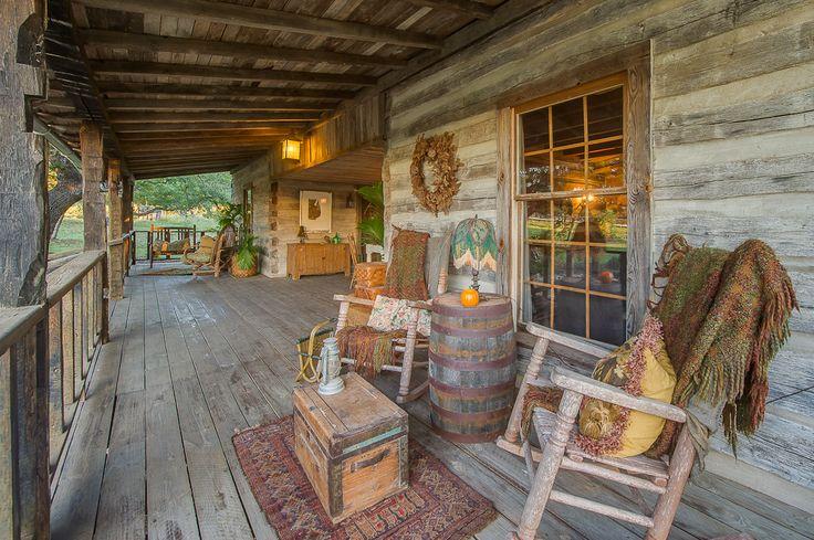 204 Best Cabin Decks Amp Porches Images On Pinterest