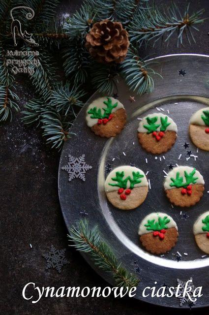 Kulinarne przygody Gatity - przepisy pełne smaku: Świąteczne ciasteczka cynamonowe