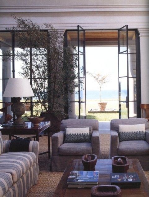 A MASTERPIECE- Michael S. Smith in Malibu- Part 2 | Mark D. Sikes: Chic People, Glamorous Places, Stylish Things