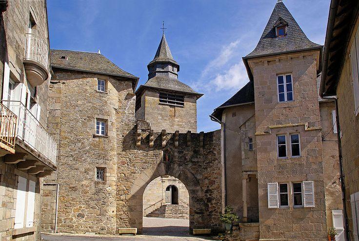 Porte de Corrèze. Porte Margot. Limousin
