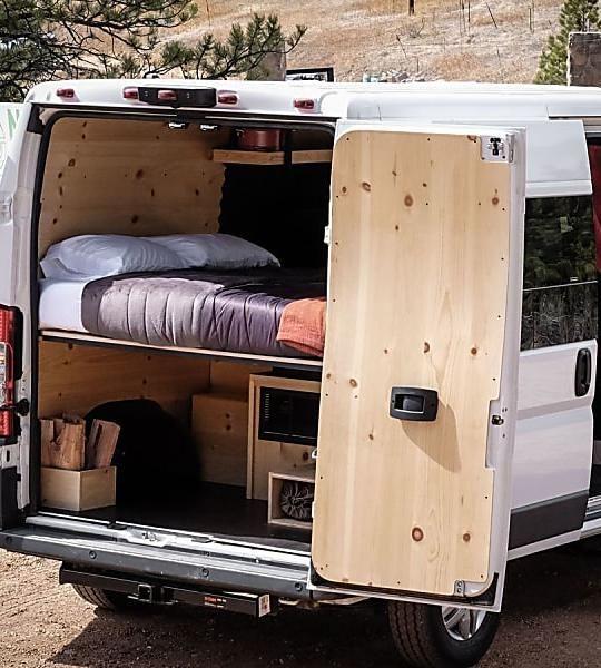 Camper van sleeps four and hides a clever bathroom | Van