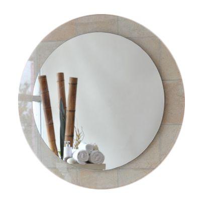 Signature Round Clear Float Series Bathroom Mirror
