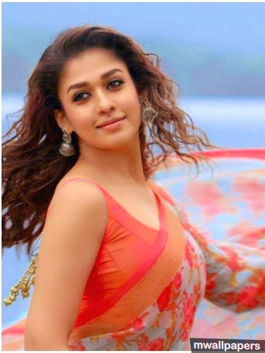 Beautiful Nayanthara Hd Photos In Saree 1080P - 9317  -4525