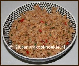 Gekruide rijst | Het Glutenvrije Kookhoekje