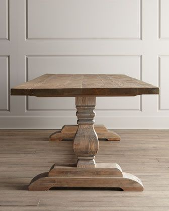 Natural Dining Table at Neiman Marcus.