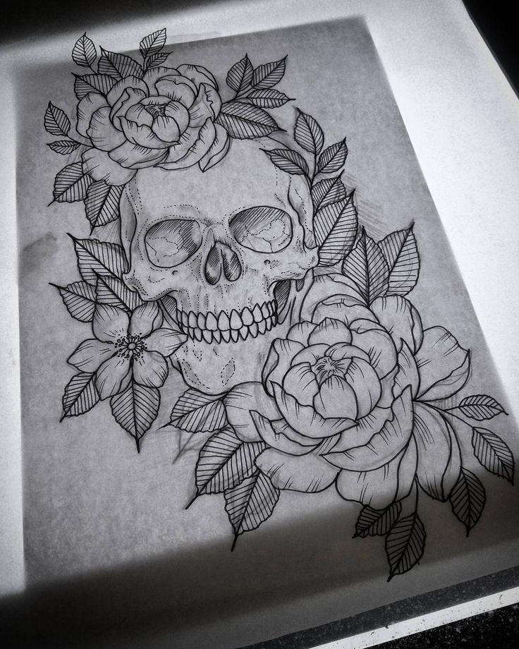 Skull Tattoo Follow Now Pin Kel Thomson Elephant Tattoos Tattoos Tattoo Designs