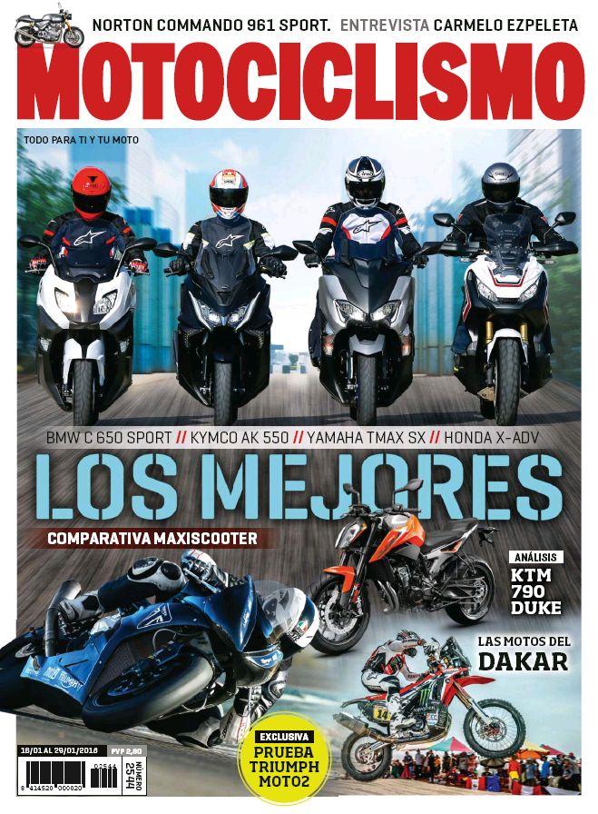 Motociclismo. N. 2544 (16-29 enero 2018)