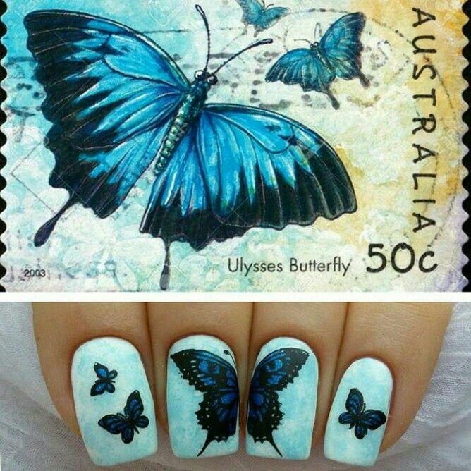 #videotutorial de mariposas....cute..,.... #Repost from @viktorybor85  #uñaslindas #bornpretty #nailsoftheday #nail2inspire #ibaguetolima #decoracióndeuñas #beautiful