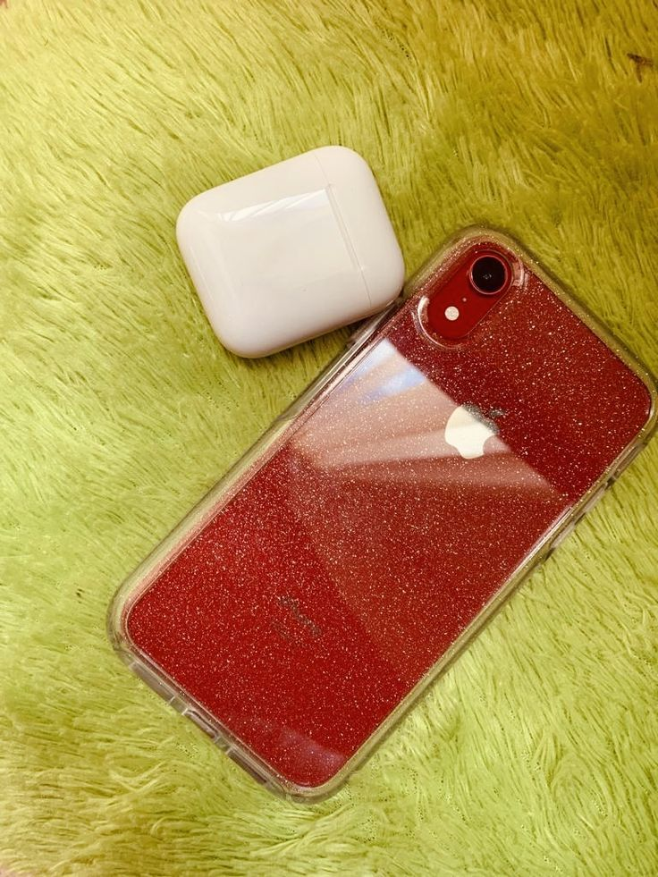 Xr Red Airpods Otterboxsymmetrystardustcase Iphone Cases Red Iphone Case Apple Phone Case Diy Phone Case