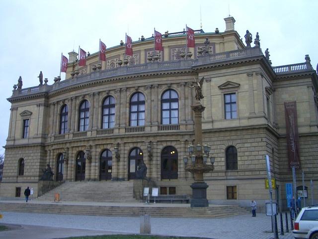 Dvorak Hall, Prague, Czech Republic