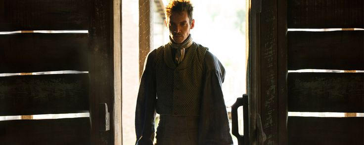 Jonathan Rhys Meyers stars as Tom Lea on the HISTORY event series Roots.
