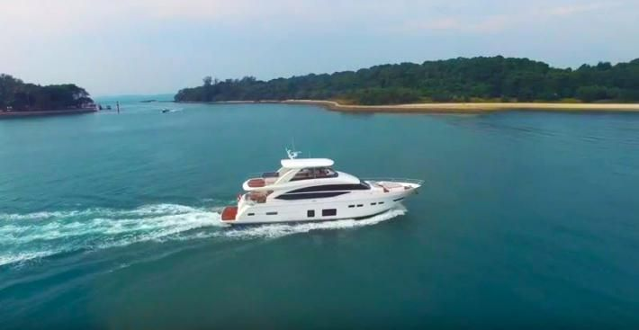 Just Released Video of the Princess Yachts 75 MY - HMY Yachts