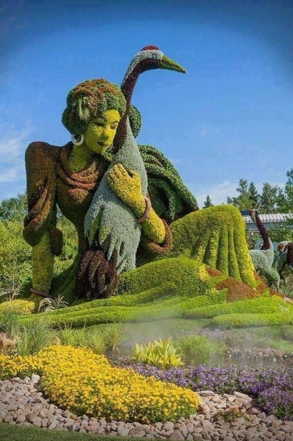 Botanical gardens. Montreal, Quebec, Canada.