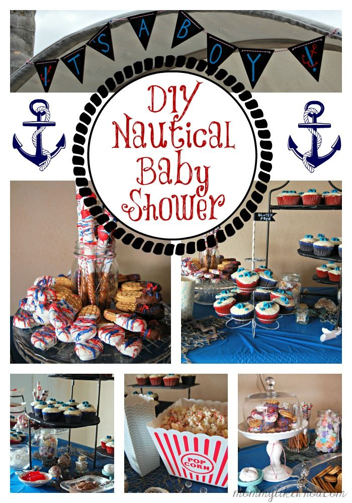 DIY Nautical Baby Shower Ideas! Free Printables for games, advice and fun! Recipes, tips and helpful ideas for going big on a budget. - mommylikewhoa.com