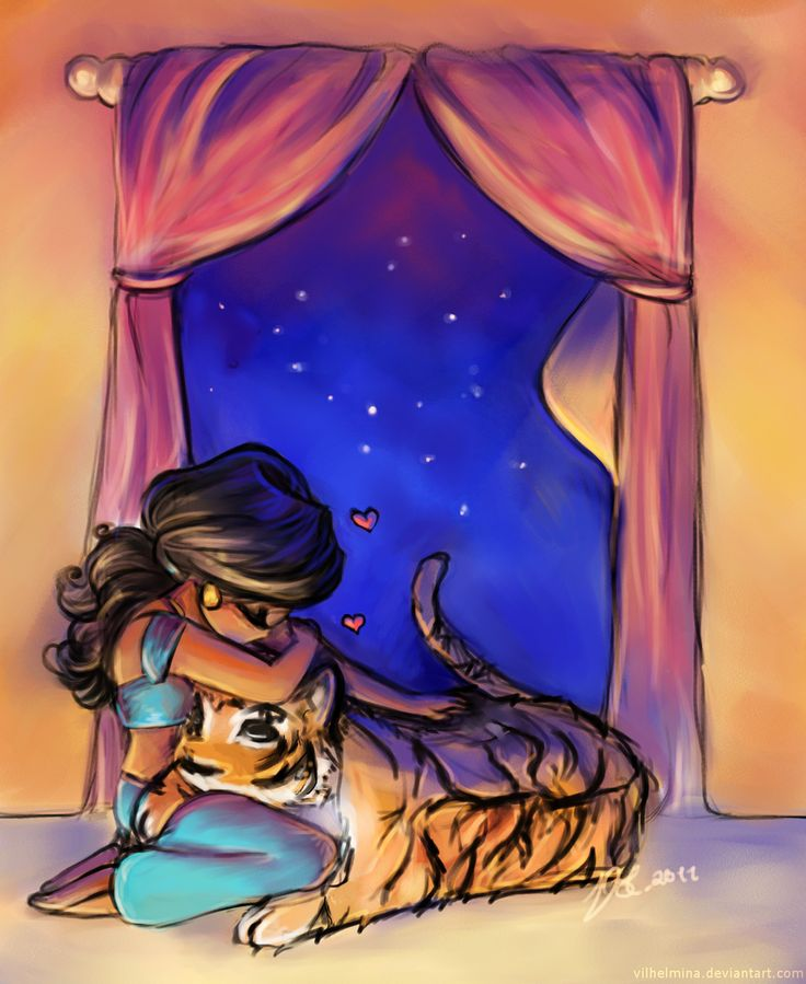 An Agrabah Evening by ~vilhelmina on deviantART (Jasmine)