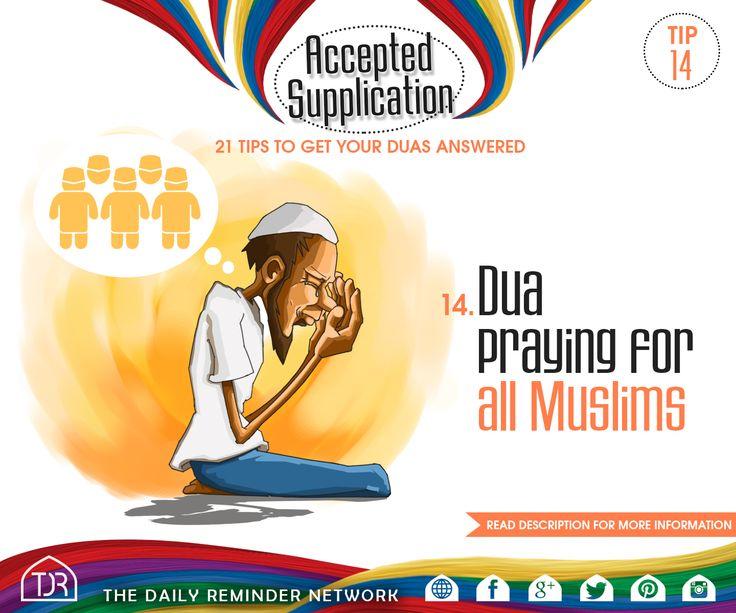 Tip #14 - Dua praying for all Muslims. Read More : https://instagram.com/p/4jOgrFGtqE/
