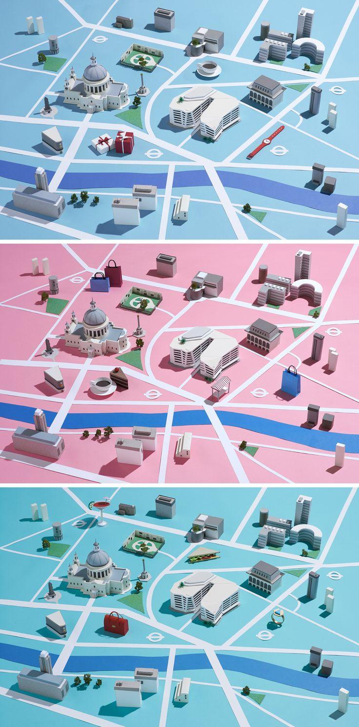 "Clean / 3D style of map ""similar"" farmville."
