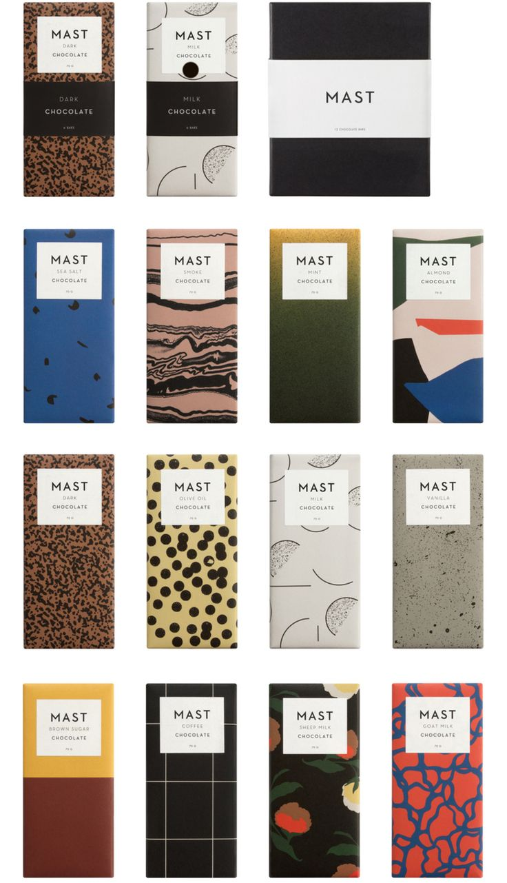 Mast Brothers chocolate packaging | vikkipacker.com