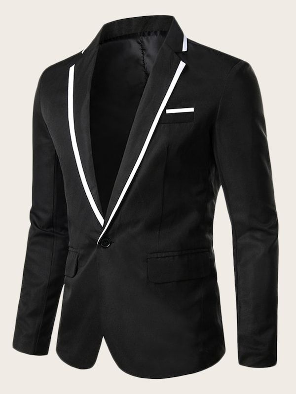 Congbride Mens 2 pcs Wedding Suits Slim Fit Peaked Lapel Tuxedos Groom Prom Dinner Suit