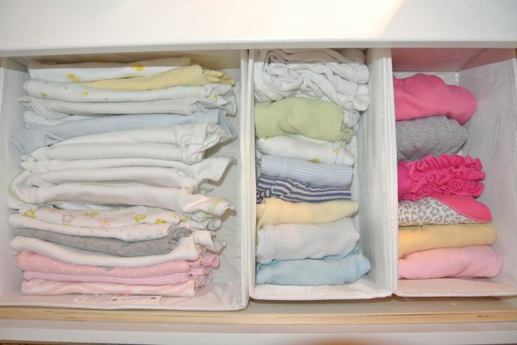 How to Organize & Fold Baby Clothes! - A Mommy Lifestyle