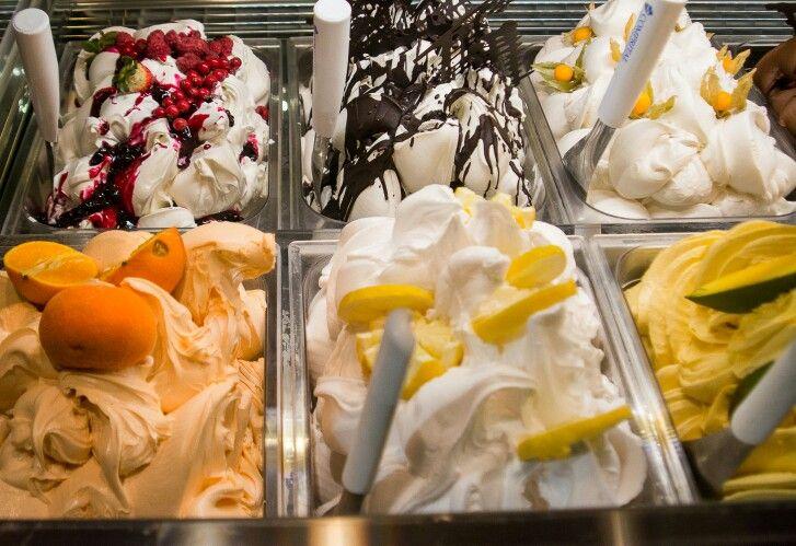 Fresh Italian Ice Cream