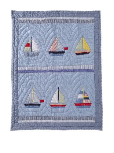 Boat Baby Quilt