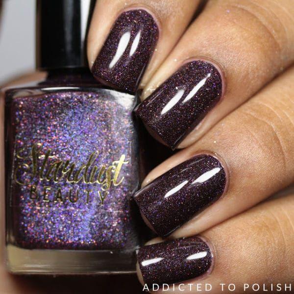 Elegant und schlicht: Flashy Nails Polish Nail Art & Nail Art #Elegant #
