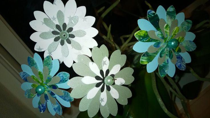 Papir-blomster.