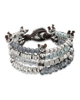 Uno de 50 Kanication Four-Row Beaded Bracelet | Bloomingdale's