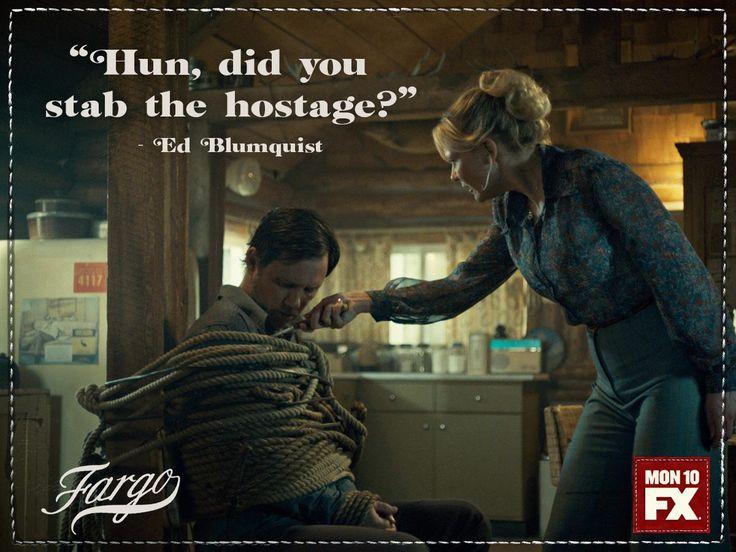 Fargo FX   Season 2   Kirsten Dunst as Peggy Blumquist & Jeffery Donovan as Dodd Gerhardt