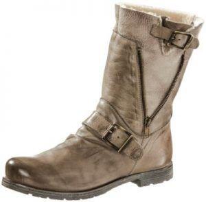 Schuhe günstig kaufen | Buffalo Bootie Damen hellbraun | 04054578300372
