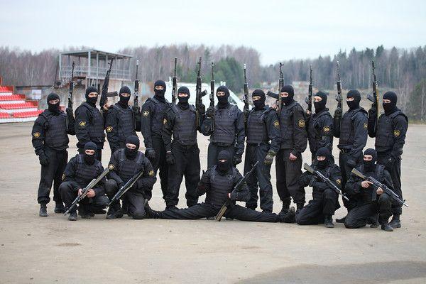 Военнослужащие 604-го ЦСН ВВ МВД России