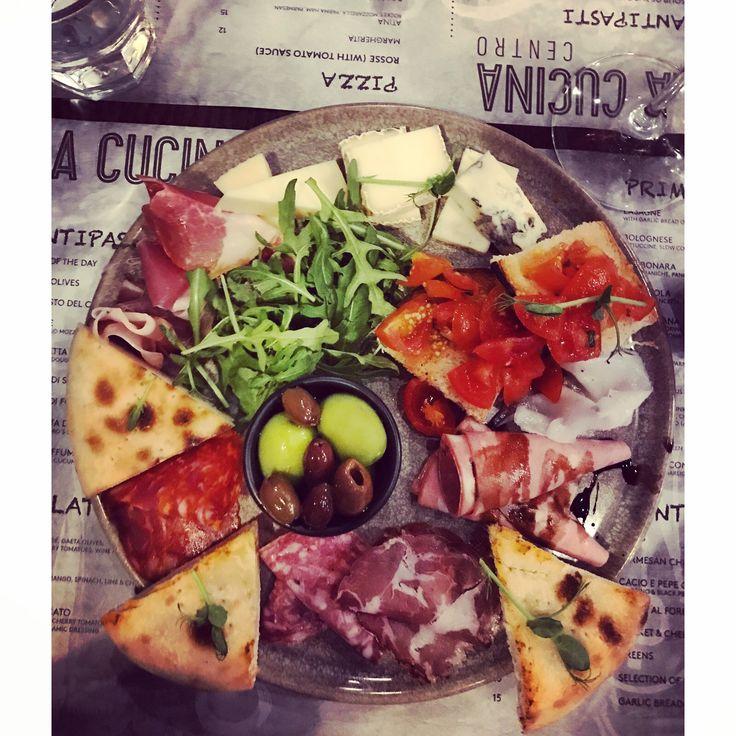 Review of La Cucina Centro, Limerick - Pub'd Food and Wine Magazine  #FoodandWineMagazine #FoodandWine #Restaurant #ItalianRestaurant #IrishItalian #Charcuterie #ItalianCharcuterie #Crudo #Salami #Pepperoni #Limerick #Ireland