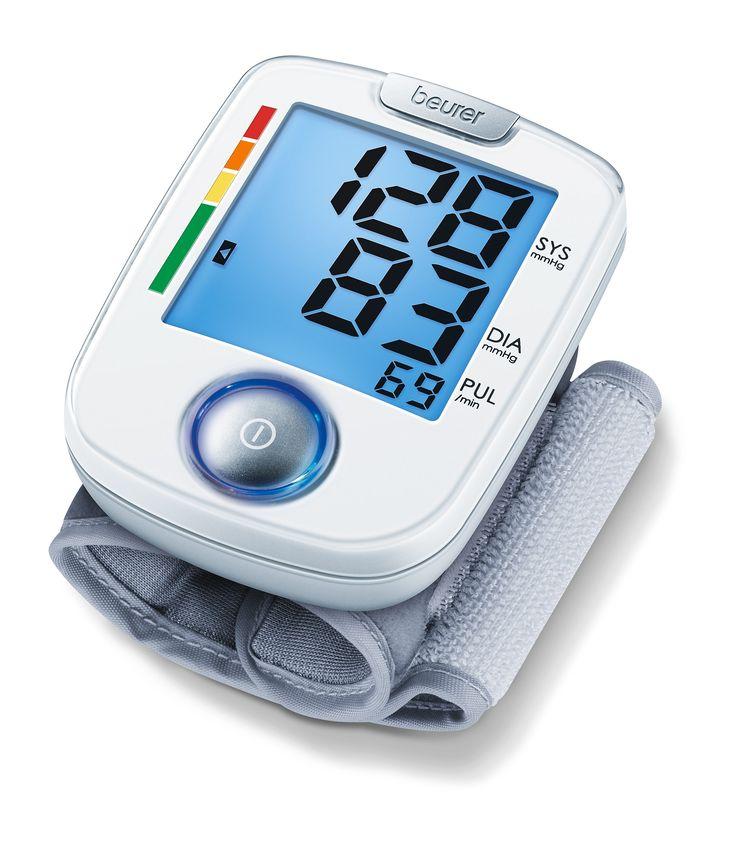 Voici le  Tensiomètre poignet Beurer BC44 que vous trouverez au meilleur prix sur www.senup.com.     https://www.senup.com/tensiometre-parlant-poignet-beurer-bc44-3904.html     Tensiomètre Beurer BC44    Mesure automatique du pouls et de la pression sanguine.  Détection des anomalies du rythme cardiaque.  Tour de poignet: 14 à 19,5 cm.